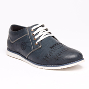 Bacca bucci Leather Casual Shoes - Grey