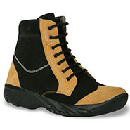 Bacca bucci  Leather  Boots - Black & Tan