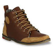 Bacca bucci  Leather  Boots - Tan & Beige