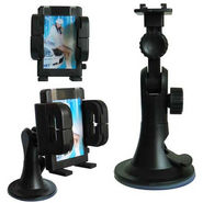 Branded Universal Car Mobile Holder - Black