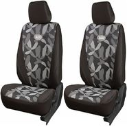 Branded Printed Car Seat Cover for Fiat Grande Punto - Grey