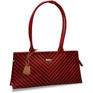 Arpera Genuine Leather Handbag C11447-3A -Red