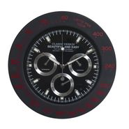 Amazing Black Round Analog Wall Clock