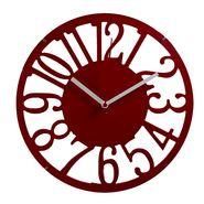 Cut Design Round Numeral Wall Clock