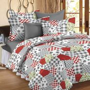Storyathome 100% Cotton Double Bedsheet With 2 Pillow Cover-CN1256