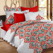 Storyathome 100% Cotton Double Bedsheet With 2 Pillow Cover-CN1266