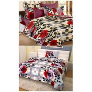 Storyathome 100% Cotton Double Bedsheet & 1 Single Bedsheet With 3 Pillow Cover -CN_1261-FY1412