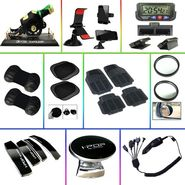 Car Interior Accessories - Combo of 10
