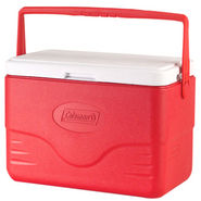 Coleman 28 QT (26L) Cooler With Bail Handle Red