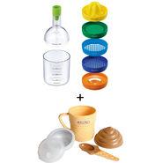 Combo of Kawachi Ice Cream Maker + Kitchen Bottle Shaker