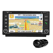 Combo of MegaAudio MAOE802N Car DVD Player +  NAVTEQ All India Map + Reverse Parking Camera