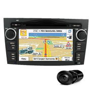 Combo of MegaAudio MAOE813 Car DVD Player +  NAVTEQ All India Map + Reverse Parking Camera