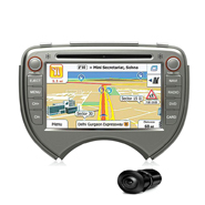 Combo of MegaAudio MAOE891 Car DVD Player +  NAVTEQ All India Map + Reverse Parking Camera