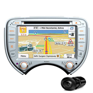 Combo of MegaAudio MAOE891C Car DVD Player +  NAVTEQ All India Map + Reverse Parking Camera
