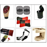 Combo of 7 in 1 Car Comfort & Interior Accessories