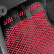 AutoStark Odourless Car Floor/Foot Mats - Red