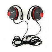 Sony MDR-Q140 Headphones - Black/Red