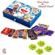 Aapno Rajasthan Lovely Doremon Chocolate Box