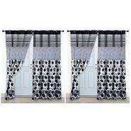 Storyathome Set of 2 Door curtain-7 feet-DCL_2-1005