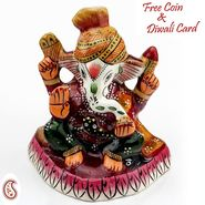 Handpainted Enamelled Metal Ganapati_09