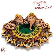 Aapno Rajasthan Designer Urli Diya Thaali