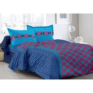 Valtellina 100% Cotton Double Bedsheet with 2 Pillow Cover-3021-B
