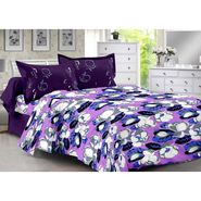 Valtellina 100% Cotton Double Bedsheet with 2 Pillow Cover-3025-A
