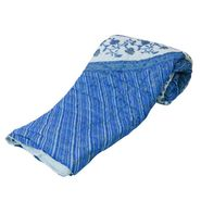 Jaipuri Print Cotton Double Bed Razai AC Quilt-DLI4DRZ313