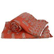 Set of 2 Jaipuri Print Cotton Double Bed Razai Quilt-DLI4DRZ3372