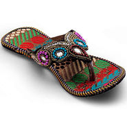 Branded Womens Sandal Multicolor -MO331