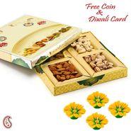 Aapno Rajasthan Classic & Awesome Look Dryfruit Box Diwali Hamper