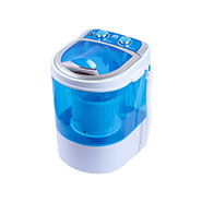 DMR 30-1208 Single Tub 3Kg Mini Washing Machine with Spin Basket - Blue