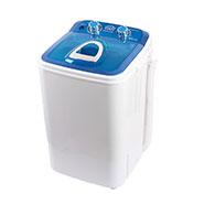 DMR 46-1218 Single Tub 4.6Kg Mini Washing Machine with Steel Dryer Basket - Blue