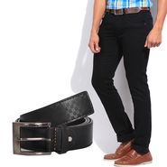 Stylox Jeans With Belt_Dnb2341003