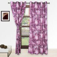 Story @ Home Pink 2 pc Door curtain-7 feet-DNR2078