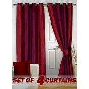 Set of 4 Printed Door curtain-7 feet-DNR_2_2073