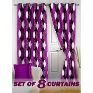 Set of 8 Printed Door curtain-7 feet-DNR_4_3057