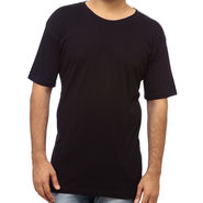 Delhi Seven Round Neck Tshirt For Men_Dodts105  - Black