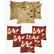 Dekor World Ultima Floral Combo. Cushion Cover(Pack of 10 Pcs)-DWCB-12-008