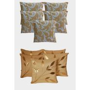 Dekor World Ultima Floral Combo. Cushion Cover(Pack of 10 Pcs)-DWCB-12-010