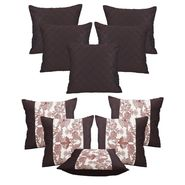 Dekor World Set of 10 Designer Printed Cushion Cover-DWCB-179