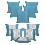Dekor World Set of 10 Designer Printed Cushion Cover-DWCB-180
