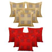 Dekor World Set of 10 Designer Printed Cushion Cover-DWCB-187