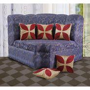 Dekor World Leaf Pattern Cushions Cover (Pack of 5)-DWCC-12-136-5