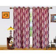 Dekor World Altra Lahar Window Curtain-Set of 2 -DWCT-767-5