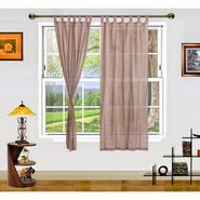 Dekor World Summer Fun Window Curtain- Set of 2 Pcs-DWCT-889-5