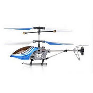 Rechargeable 3 Channel Radio Controlled Metal Body Helicopter