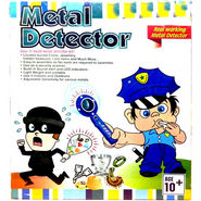 Kids Real Working Metal Detector Educational Toy Kit