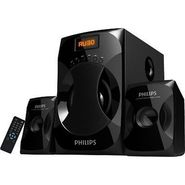 Philips 2.1 Multimedia Speaker System Explode MMS4040F-94(Black, 2.1 Channel)