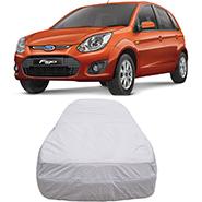 Digitru Car Body Cover for Ford Figo - Silver